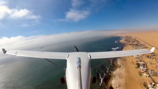 Jabiru J430 Flying